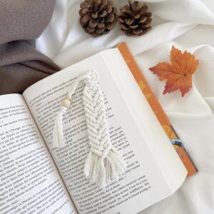 Marque pages coton